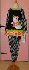 "GIRLS SIZE 6X RARE EDITIONS HALLOWEEN OUTFIT ""BOO"" GHOST , SO CUTE !"