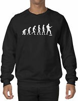 Evolution Guitar Band - Music, Musician, Rockstar Crewneck Sweatshirt