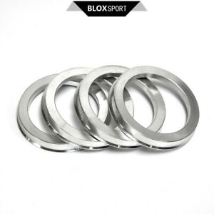 (4) Hub Centric Ring for Saab 9-3x ID=65.1 OD=73.1 Aluminum Ring Size 65.1- 73.1