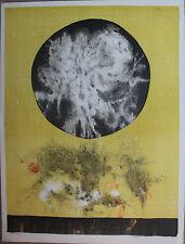 Olle SVANLUND Lithographie lithograph signée numérotée 1982 svensk swedish *