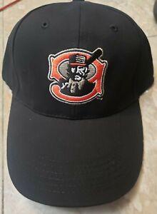 MILB Mudville Nine Black & Red Minor League Baseball Hat NEW