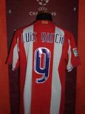 LUIS GARCIA ATLETICO MADRID 2007/08 MAGLIA SHIRT CALCIO FOOTBALL MAILLOT JERSEY