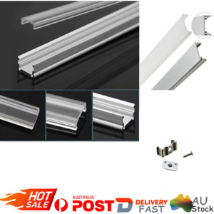 Aluminium Channel Alloy Profile Bar HEATSINK Diffuser Track for LED Strip Light
