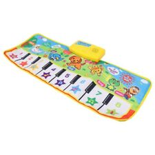 Child Play Mat Farm Animal Music Carpet Kids BabyPlay Fun Piano Blanket Toys