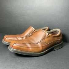 Rockport Leather Loafers Washable Casual Comfort Shoes Men Size 10M