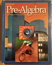 GLENCOE PRE-ALGEBRA 7 8 9 textbook middle school math W/ANSWERS