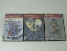 NEW PS2 GH KINGDOM HEARTS I ii 2 + RE: CHAIN OF MEMORIES GAME LOT 3 GAMES