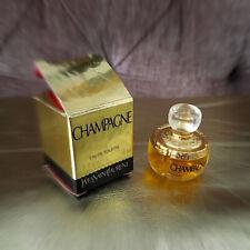 More details for vintage perfume yves saint laurent champagne edt 4ml/0.13fl.oz. perfume