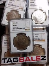 Estate Coin Lot U.S. Silver Morgan Dollar ▶ 1 PCGS or NGC ◀ Certified MS63 SALE
