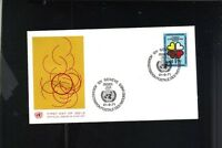 FIRST DAY ISSUE 1971 GENEVA HEARTS STAMP ELIMINATE RACIAL DISCRIMINATION FDC