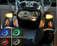 BMW R1200GS Adventure up to Model 2013 Bi-Color LED emblem-flasher: White/Yellow