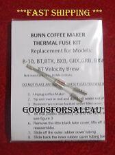 Repair Your Bunn B10,GRX,BXB,BTX BT Coffee Maker WATER NOT HEATING? ~ READ ADD!