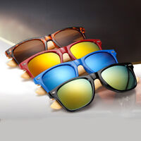 Summer Fashion Bamboo Sunglasses Wooden Mens Womens Retro Vintage Glasses