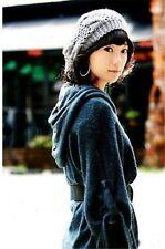 Women Lady Winter Warm Knitted Crochet Slouch Baggy Beret Beanie Hat Cap CUTE