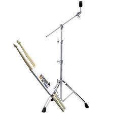 Pearl BC-830 Cymbal Galgen-Beckenständer + KEEPDRUM Drumsticks