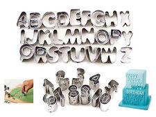 37 pièces alphabet lettre numéro de coupe décoration gâteau muffin cookies mould set