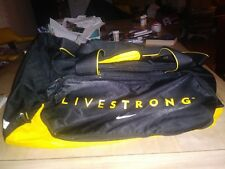 """LIVESTRONG Duffle Bag """"15x 24"""" By Nike Previously Owned"""
