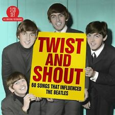 Twist & Shout: 60 Songs That Influenced The Beatles VARIOUS Best Of NEW 3 CD