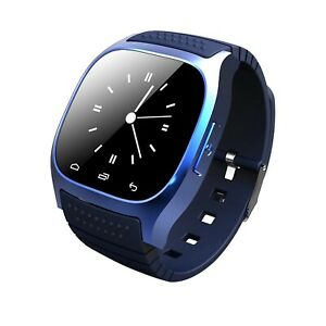 Waterproof Bluetooth Smart Watch For Android HTC Samsung iPhone iOS Mate Wrist