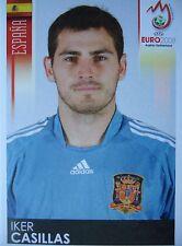 Panini 416 Iker Casillas Spanien UEFA Euro 2008 Austria - Switzerland