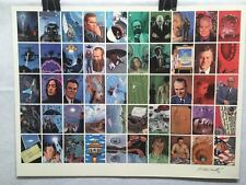 Dark Horse Presents UFO Trading Cards UNCUT 50 CARD SHEET Signed Poster Size