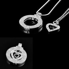 New Valentine Days Gifts Stairway To Heaven Women Pendant Necklace Couples New
