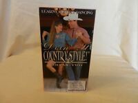 Doin' It Country Style Volume Two Learn Country Dancing VHS 1992