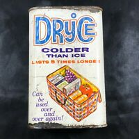 Vintage 1 Pint Gold Seal Chemicals Co Dryice Colder Than Ice Advertising Tin