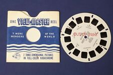 B4156~ Ultra Rare Sawyer's 1955 View-Master Reel 4352 Movie Stars Of India II