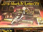 1/10 Bandai JPS Mark IV LOTUS 79 team bolid formula-1 1979 Mario Andretti