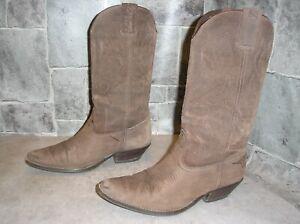 JOE SANCHEZ Cowboystiefel, Westernstiefel, Cowgirlstiefel, Gr. 38, echtes Leder