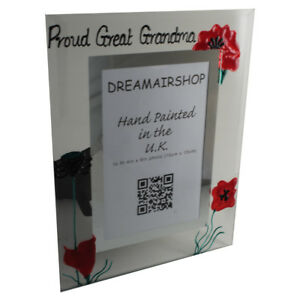 Personalised/Non personalised Proud Great Grandma Picture Photo Frames Port