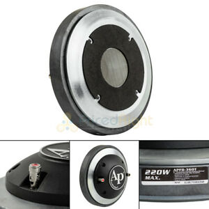 """2"""" Exit Compression Horn Driver with 3"""" Voice Coil Titanium 8 Ohm Audiopipe New"""