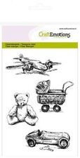 Clear Rubber Stamps - Vintage Toys - 1245 - New Release