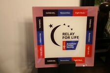 Relay For Life Collectible Plate 12X12 Inch