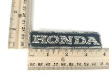 """X1 Vintage 80's """"HONDA"""" Car or Motorcycle Shinny Silver Hat Jacket Patch"""