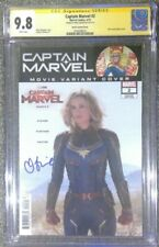 Captain Marvel #2 photo cover variant__CGC 9.8 SS__Signed by Brie Larson