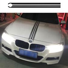 Stripes Vinyl Decal Decals Engine Cover Hood Sticker  for BMW Mercedes Benz
