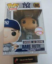 Funko Pop! Sports Legends 02 Babe Ruth MLB New York Yankees Cooperstown Pop