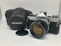 Rare【 Nr MINT 】Olympus M-1 35mm Film Camera, w/ G Zuiko 50mm f/1.4 from Japan