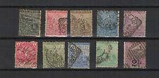 Colonie Anglaise Afrique Cap de bonne Espérance 10 timbres XIXe /T1930