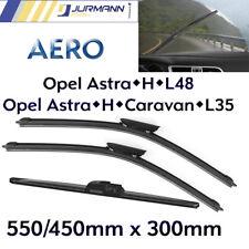 3er Komplett-Set Aero Scheibenwischer Vorne 550/450 & Hinten 300 Opel Astra H
