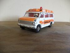 corgi toys chevrolet ambulance fair old model   please see pictures