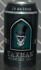 Taxman Brewing Co - Beer Can - La Maison - Version 1 - Bargersville, In