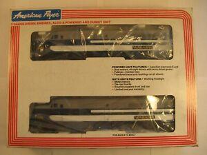 """American Flyer 6-48100 """"WABASH"""" DIESEL LOCOMOTIVE PA-1 SET  """"NEW"""" in ORIG BOX"""