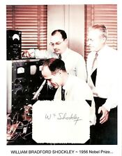 William Shockley Autograph Nobel Prize Physics Point Contact Transistor  #2