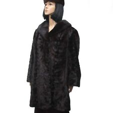 Nerzmantel Damen Pelzjacke Mink Jacket - braun/brown -  норки Gr.:44-46?  (N251)