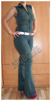 only Jeansoverall Gr. 38 Catsuit Jumpsuit blau stretch (#1187)