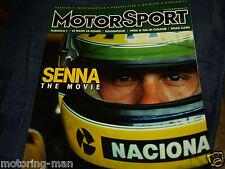 AYRTON Senna la storia MOVIE TOLEMAN MCLAREN LOTUS ASTON MARTIN NIMROD LE MANS
