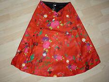 Superbe jupe Anatopik motif fleurs taille unique